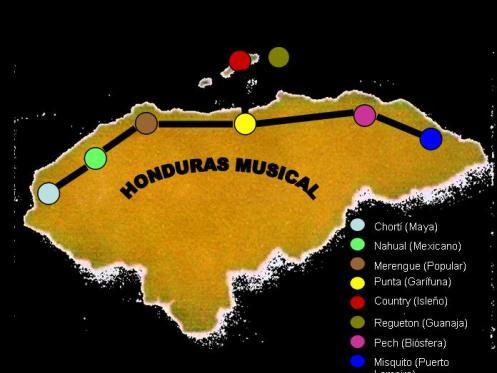 Ruta musical por Honduras